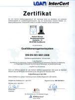 Urkunde - Qualitätsmanagement
